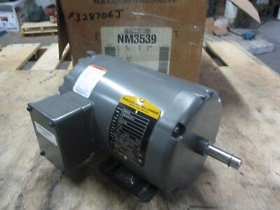 Baldor Electric Motor CM3108 .5HP 230//460Volt 2//1Amp 1725RPM 56C Frame New