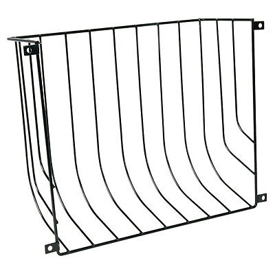 Trixie Hay Manger Screw On 22x16x6cm Fruit Vegetables Grass Rack Metal Tough