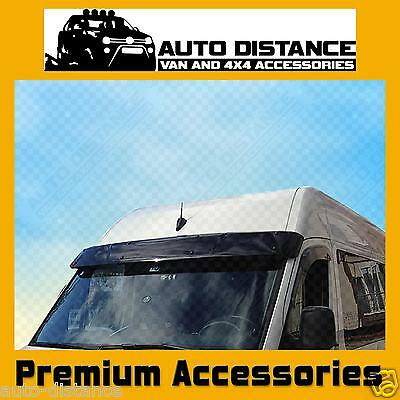 Sun Visor Solid Black Acrylic 2006-2017 FOR VW CRAFTER
