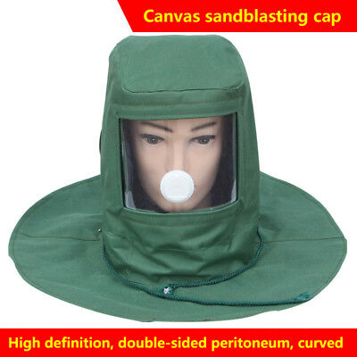Multi-function Sand Blasting Hood Mask Anti Dust Wind Protective Full Face Mask
