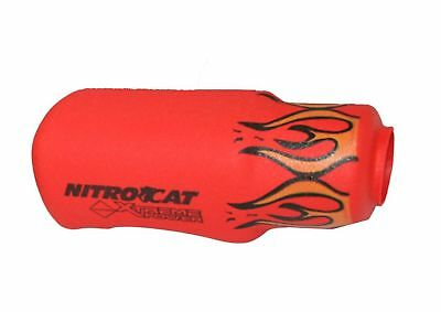 NITROCAT 1200-Kbr Red Flame Nose Boot for 1200-K 1/2-Inch Impact Wrench