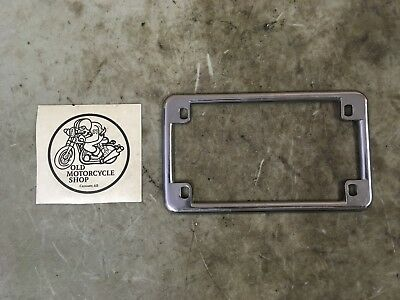 "License Plate Trim Fits 7"" X 4"" Plates"