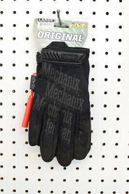 Mechanix Original Work Mechanic Sport Tactical Black Gloves (MG-55-010, Large)