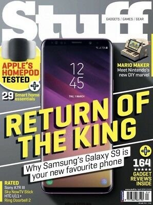 Stuff Gadget Magazine April 2018 (BRAND NEW BACK ISSUE)