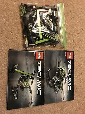 Lego Technic Set 42021 Snowmobile 100 With Instructions 1400