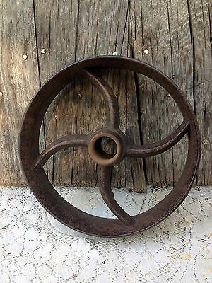 Antique Cart Dolly Table Rail Road Cast Iron Industrial Utility Cart Wheel