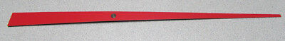 """New X-Large Red Sweep Second Clock Hand - 10"""" Hand Length, 16"""" Overall (S-11R)"""