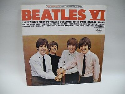The Beatles VG plus Long Play Record ST 2358