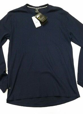 904c1f8c1 NEW Mens Nike SB Dri Fit Long Sleeve Thermal Navy Blue Shirt Size Large