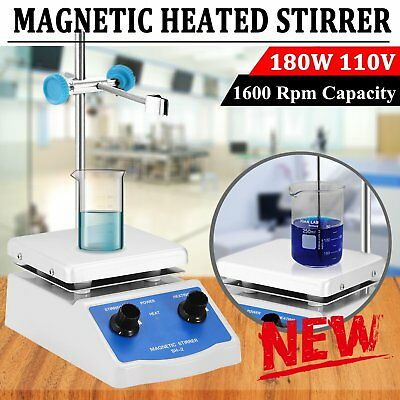 Sh-2 Magnetic Stirrer Hot Plate Dual Controls Heating Plate Stir Laboratory Us M