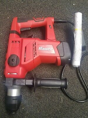 Bauer 1-1/8 in. SDS Variable Speed Pro Rotary Hammer Drill Tool Model 1641E-B