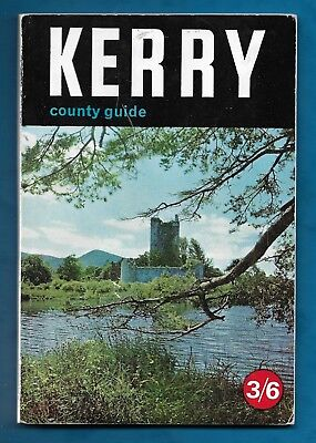1965 Official County Guide To Kerry, Ireland P/b