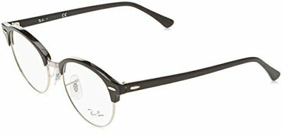 Ray-Ban 4246V, Montature Unisex Adulto, Nero (Black), 49 (O2y)