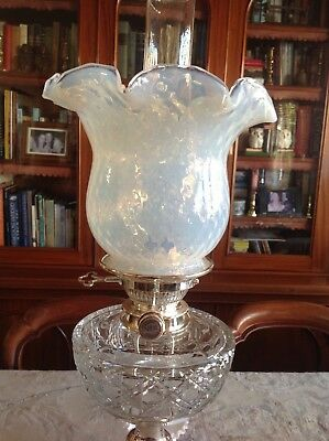 Vasoline Glass Kerosene Lamp Shade
