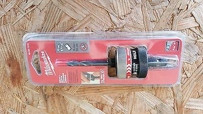 "Milwaukee BRAND NEW 3/8"" QUICK RELEASE Arbor  Small Hole Saws  49-56-7210"