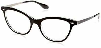 Ray-Ban 5360, Montature Donna, Nero (Top Black on Transparent), 54 (C5A)