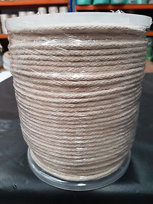 """Ø5mm x 250m Reel of Generic Cotton Sash Cord """"FREE"""" Delivery"""