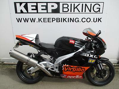 2001 Aprilia Rsv1000 Mille  Only 11368 Miles. Full Service History. Tail Tidy.