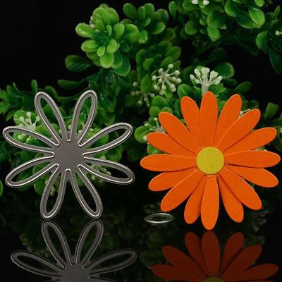 Chrysanthemum Flower Metal Cutting Stencil Craft Scrapbooking Card DIY~