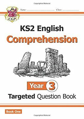 New KS2 English Targeted Question Book Year 3 Comprehension - Book 1 CGP KS2 E