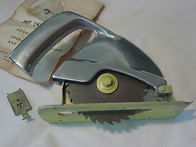 "Vintage Pet Tools Drill Saw 1/4"" Drill"