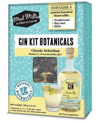 Gin Botanicals by MadMillie - FREE SHIPPING