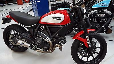 Ducati Scrambler 800 Icon 2015 reg bike 2193 miles only excellent condition