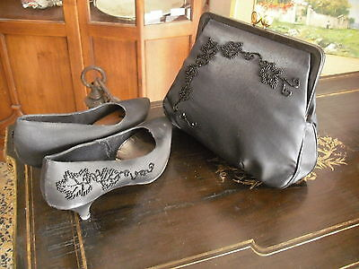 Shoes handbag parure POLLINI vintage