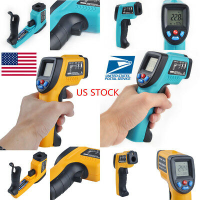 Handheld Non-Contact IR Infrared Laser Digital LCD Temperature Thermometer Gun