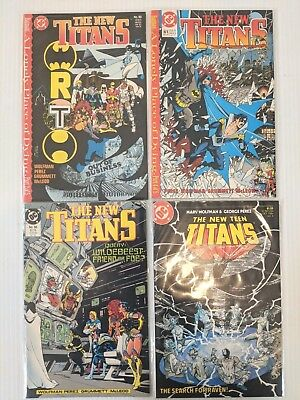 New Teen Titans 4 comic lot A Lonely Place of Dying 59 60 61 2 Batman NM