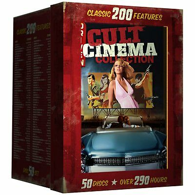 Drive-In Cult Cinema Collection: Classic 200 Features DVD Box Set brand new
