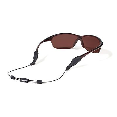 "Croakies ARC System Endless Adjustable Eyewear Retainer XL/XXL Ends 16"" Black"