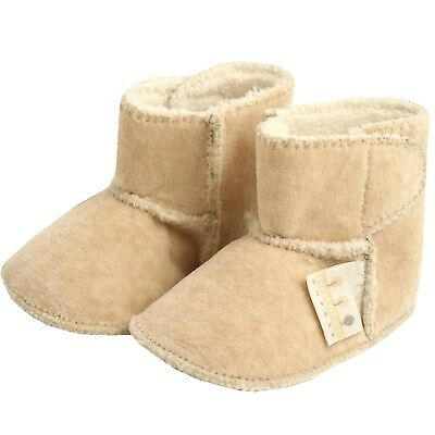 Natures Purest Velour Boots/Booties BN 0 - 6 months