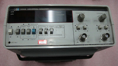 Hp 5314A  100 Mhz Universal Counter