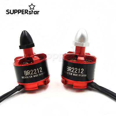 Racing Edition BR2212 980KV 2-4S Brushless Motor CW//CCW For Racing RC Drones