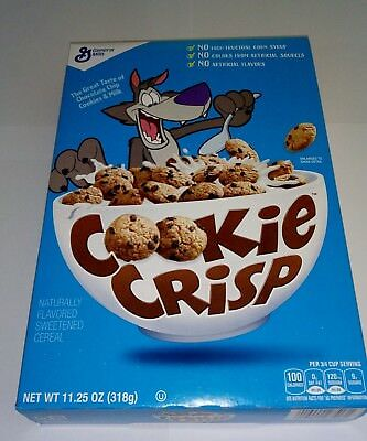 Cookie Crisp Naturally Flavoured Sweetened Cereal 318g