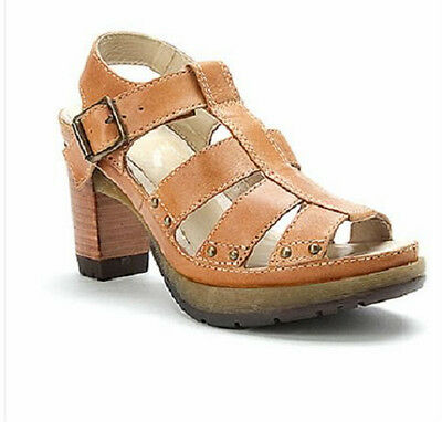 Doc Martens Vanessa lovely strappy sandal/shoe polished laredo biscuit UK9 US11L
