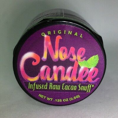 👃Nose Candee Original Infused Raw Cocoa Snuff Compare 2 Coco Loko + FREE GIFT🎁