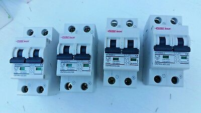 ConTech DC Circuit breakers  C10, C16, C32, C40 DC500V for solar systems