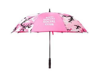 DS Undefeated x Anti Social Social Club pink camo Umbrella Frenzy ASSC supreme