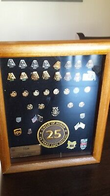 United Parcel Service Safe Driving Pin Collection, 1-27 years