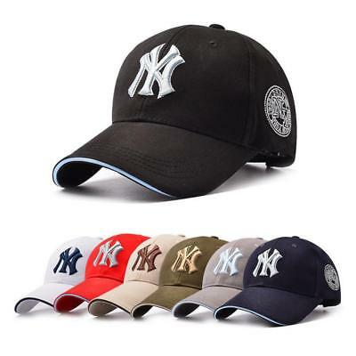 Women Men NY Snapback Baseball Caps Casual Solid Adjustable Cap Bboy Hip Hop Hat
