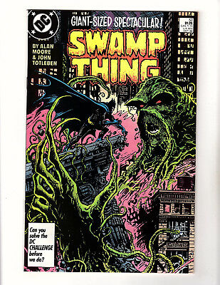 Swamp Thing #53 (1986, DC) VF/NM Vol 2 Batman Alan Moore John Totleben