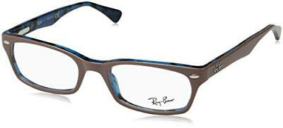 Ray-Ban 5150, Montature Donna, Nero (Top Light Brown On Havana Blue), 48 (s0o)
