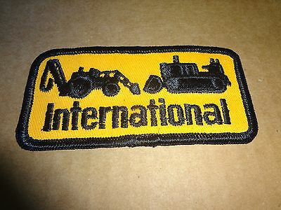 "international harvester ,patch,2""x4.5"", new old stock"