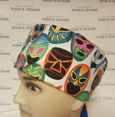 Mask Collection   / Men's  Scrub Cap/surgical Hat