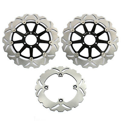 Front Rear Brake Discs Rotors Set For Ducati 748 916 998 BIPOSTO 748 S R SP SPS
