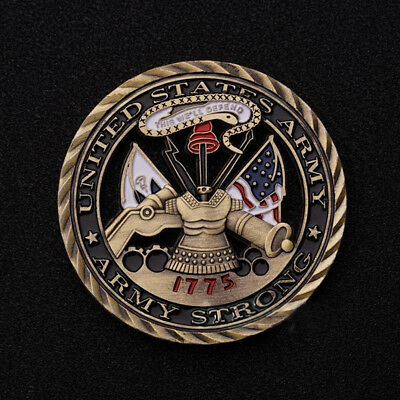 U.S. Army / Core Values challenge coin 1775 Army Strong United States Patriotism