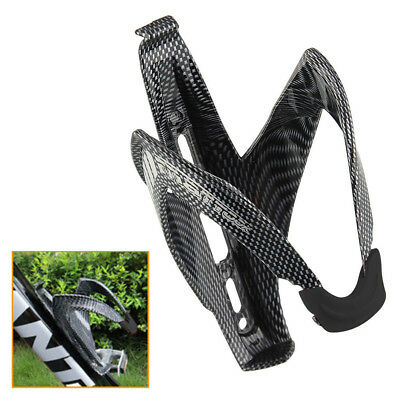 lightweught Carbon Fiber Bike Bicycle Drink Water Bottle Holder Cage Rage Rack