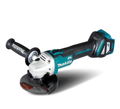 Makita Dga511Z 18V Li-Ion Brushless Cordless 125Mm Slide Angle Grinder Skin Only
